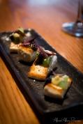 Northland Kingfish a la plancha / cucumber / togarashi / smoked oyster